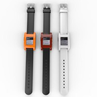 pebble intelligent watch 3d x