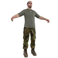 3d base soldier