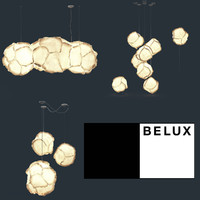 belux cloud lamp 3d max