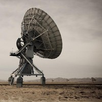 large array radio telescope 3d ma