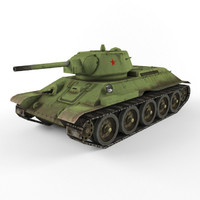 3d model of t 34
