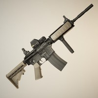 maya tactical m4a1 rifle
