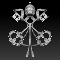 3d 3dm coats arms vatican