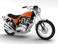 triumph x75 hurricane 3d model