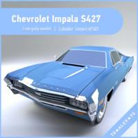 muscule chevrolet impala s427 3d max