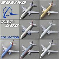 maya boeing 737 500 -