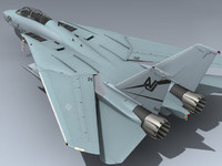 3d model f-14d super tomcat vf-124