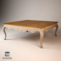 table journal salda 3d model