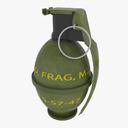 M26 Grenade 3D models