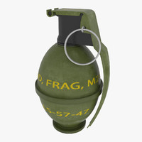 3dsmax grenade m26