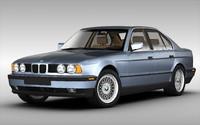 3d model - bmw car