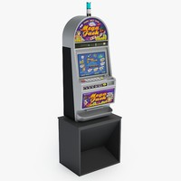 3d model slot machine