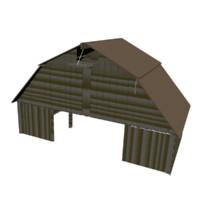 3d barn farm building