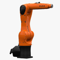 3d model kuka industrial robot