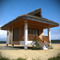 beach house 3D models