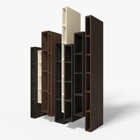 3d skyline bookcase model