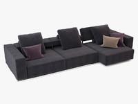 max sofa b italia andy
