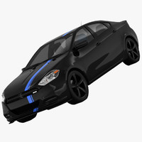 3ds max dodge dart mopar 13