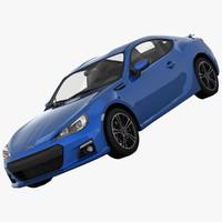 maya subaru brz sports car