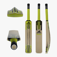 cricket bat adidas 3d model
