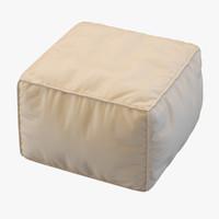 3ds max pouf