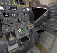 3d lunar module interior