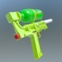 lightwave supersoaker water gun