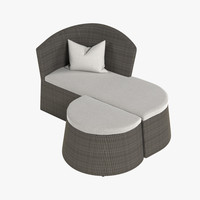 3d max lounge chair