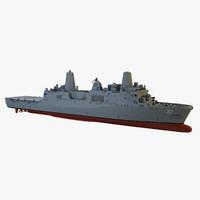 3d uss portland model