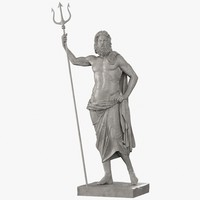 poseidon sculpture max