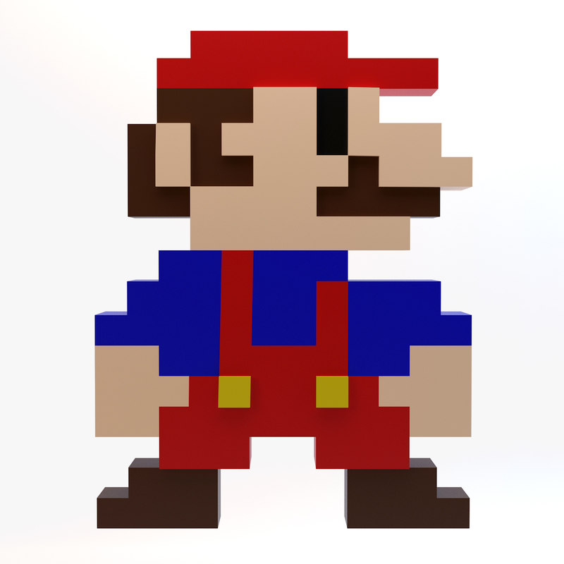 8-Bit Mario Characters - Bing images