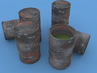 3d barrel toxic waste