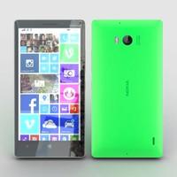 nokia lumia 930 green 3ds