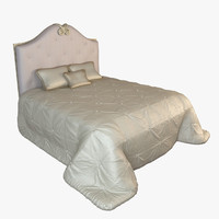 3d max christopher guy godiva bed