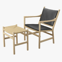 3d chair ch44 footrest ch53