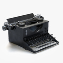 typewriter 3D models