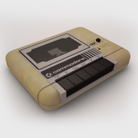 commodore datasette 3d model