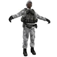 soldier 6 3d model
