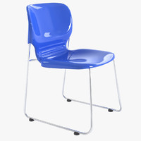 figueras loose chair silla 3ds