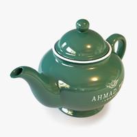 3d model teapot ahmad