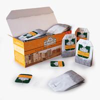 tea ahmad orange pekoe 3d max