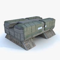 3ds max sci i uturistic building