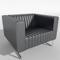mona couches sofa armchair 3d 3ds