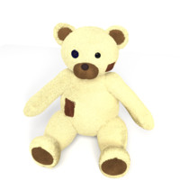 3d teddy bear model