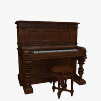 Victorian Upright Piano
