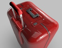 suitcase luggage 3d c4d