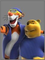 3d winnie pooh tigra model