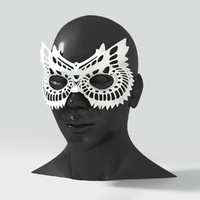 3ds max mask owl