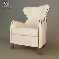 3d imart wing chair