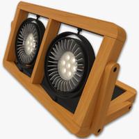 halla arbo 301n lamp 3d model